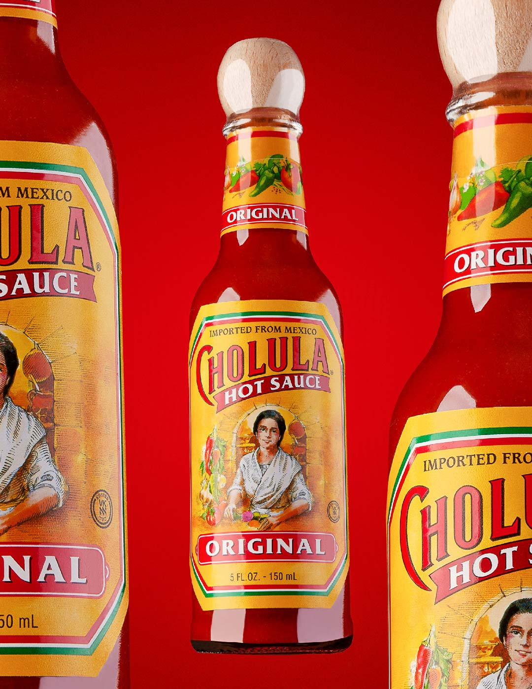 Cholula Hot Sauce spec shoot by Greywood Photography
