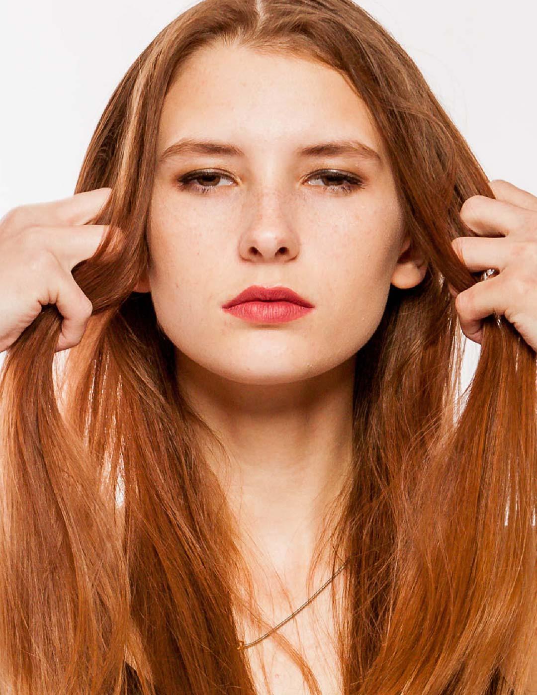 Jade Trisdale shot for Models & Images wichita in striking fashion pose