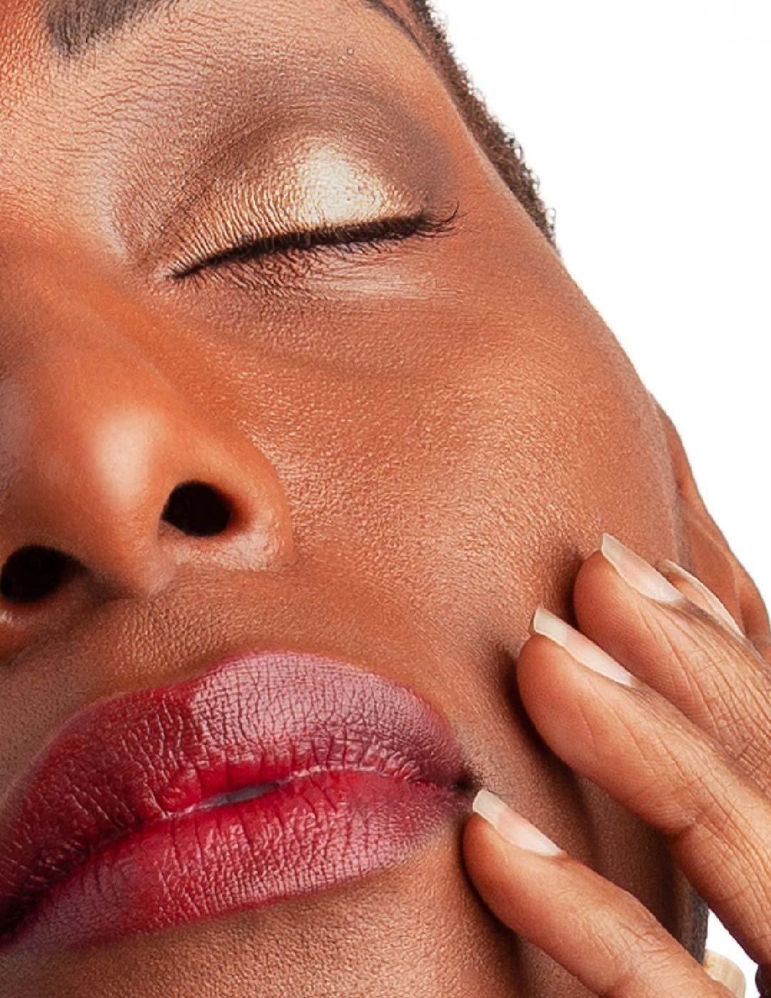 skin detail from model test shoot for bettye @mybaldisbetter