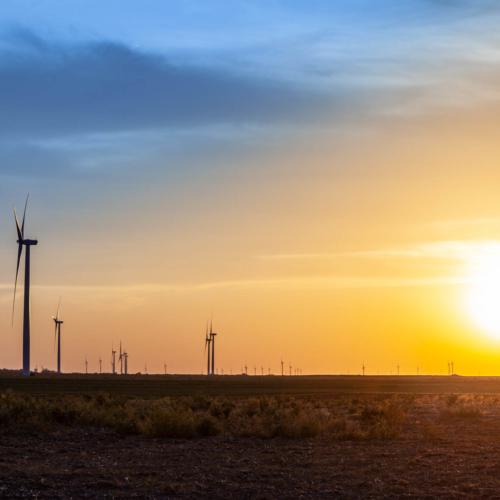 kingman sunset turbines