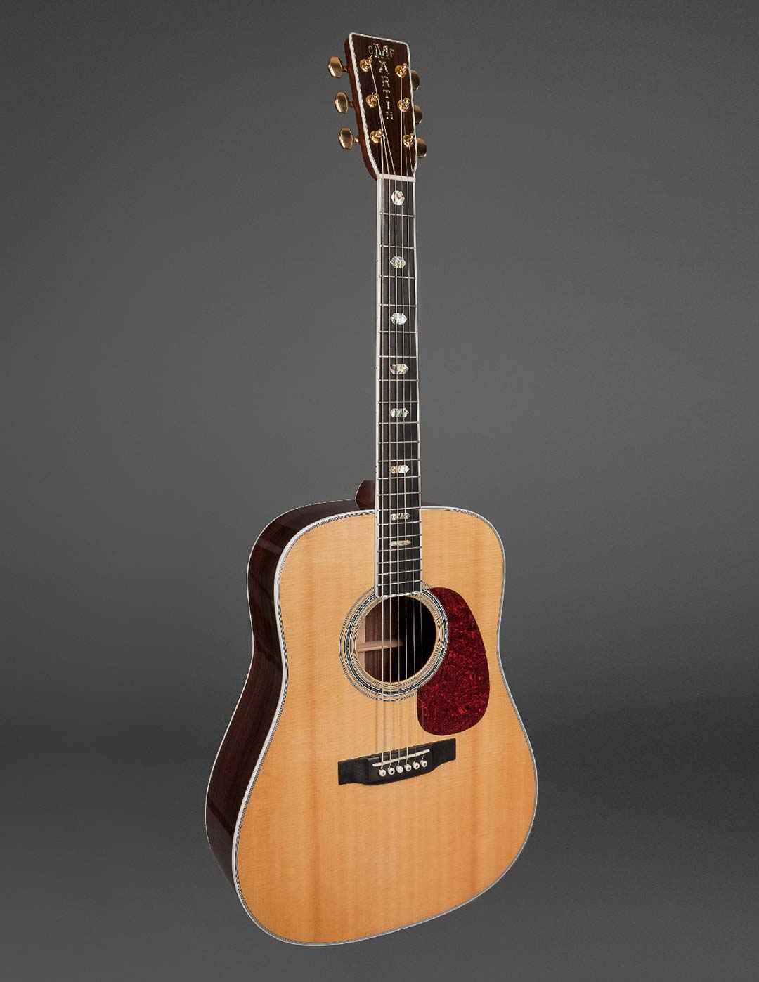 floating martin guitar